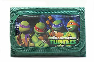 Teen Age Mutant Ninja TURTLES TMNT Kids Boy's Tri-fold Wallet