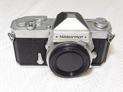 Nikon Nikkormat FT-N Manual Focus 35mm Film Camera. Vintage and collectable