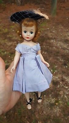MADAME ALEXANDER 1950's Cissette Doll in Original Clothing