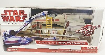 Star Wars Legacy Collection Wedge Antilles X-Wing Starfighter Collectors