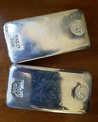 1kg 1 kilo Silver Bar Perth Mint pure bullion