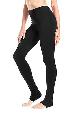 (Black, Large) - Yogipace Women's High Waisted Yoga Goddess Over The Heel