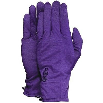 (X-Large, Amethyst) - Rab Meco 165 Womens Glove. Shipping is Free