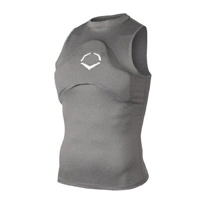 (Youth Large, Charcoal) - Wilson Sporting Goods Evoshield Men's Sleeveless
