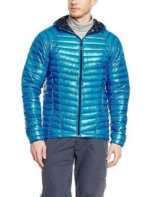 (Large, Dark Compass) - Mountain Hardwear Ghost Whisperer Hooded Down Jacket -