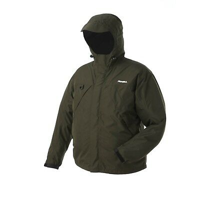 (3X-Large, Dark Forest Green) - Frabill F1 Rainsuit Jacket. Shipping is Free