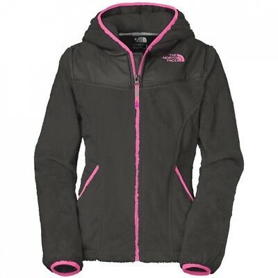 (Small / 7-8 Big Kids, Graphite Grey) - The North Face Girls OSO Hoodie Fleece