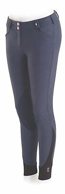 (24 R, Blue) - Tredstep Rosa Ladies Knee Patch Breech. Tredstep Ireland
