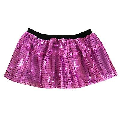 (Medium / Large, Purple) - Dreamdanceworks Women Running Skirt Race Tutu,