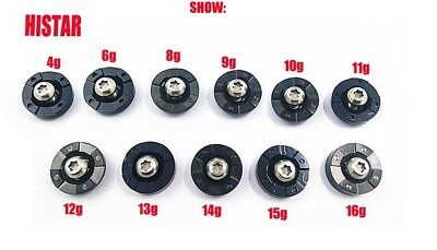 (11g) - HISTAR Golf Weights With Screw For Ping G30 Driver Head Clubs 4g 6g 8g