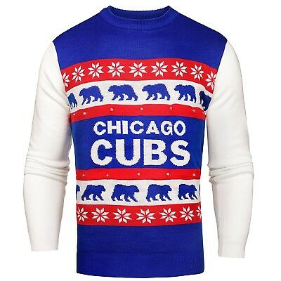 (Chicago Cubs, XX-Large) - MLB Light Up Ugly Sweater. Forever Collectibles