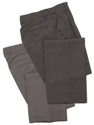 (100cm , Heather Gray) - Adams USA Smitty Pleated Baseball Umpire Combo Pants