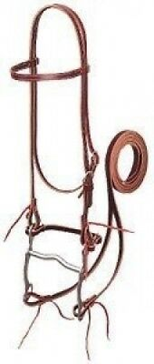 Weaver Pony Horse Leather Bridle Western Show Tack. Weaver Leather