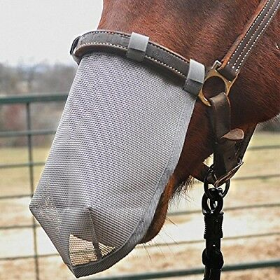 (Medium) - Cashel Crusader Horse Nose Net Mask, protects from biting insects