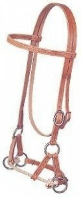 Weaver Horse Leather Side Pull Bridle Headstall Tack. Weaver Leather