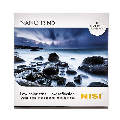 6 Stop NiSi 72mm HUC IR Neutral Density Filter ND64 1.8