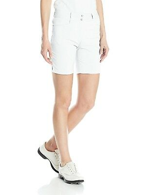 (6, White) - adidas Golf Women's Essential Lightweight Shorts. Shipping Included