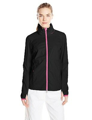 Zero Restriction Women's Lindsay Wind Jacket, Black, Small. Shipping Included