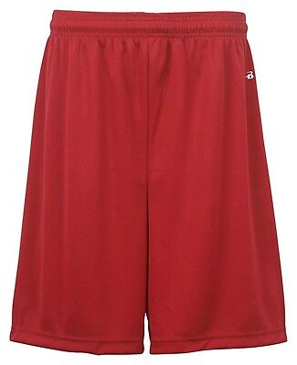(Medium, Red) - Badger Big Boys' Athletic Performance Superior-Fit Pocketed