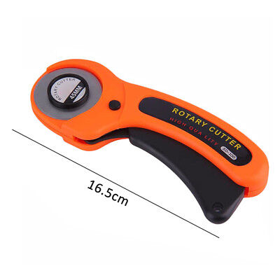 45mm Rotary Fabric Cloth Roller Cutter Cutting Cut Sewing Quilter Craft Tool