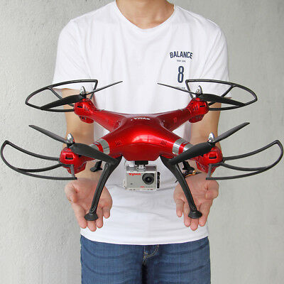Syma X8HG 4CH 2.4G 8MP HD Camera Drone High Hold Hover Headless RC Quadcopter US