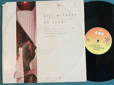 """Bill Withers-Oh Yeah! 12""""-CBS, TA 6154, 12"""" vinyl record"""