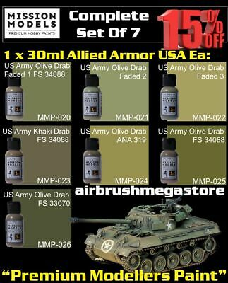 Mission Models Paints Allied Armor USA+ Free Insured Post