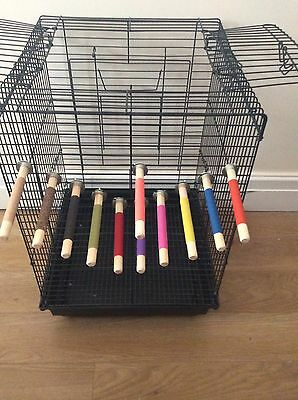 bird perch for Budgies,Canaries and Finch sized birds.......