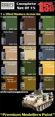 Mission Models Paints Modern Armor + Free Insured Post