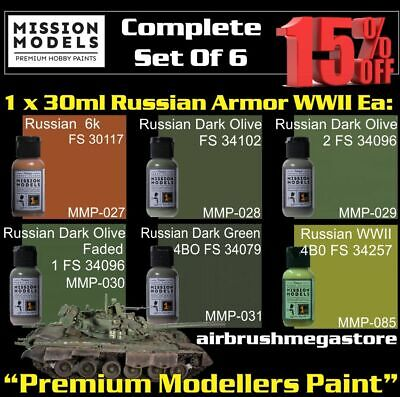 Mission Models Paints Russian Armor WWll + Free Insured Post