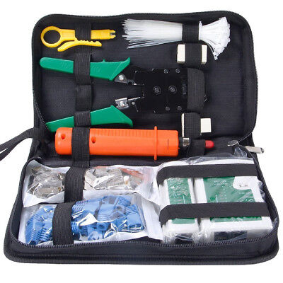 SGILE 9 in 1Network Tool Kits Professionelle Computer-Wartung LAN-Kabel-Tester