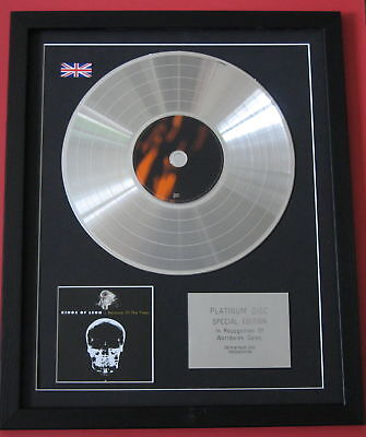 KINGS OF LEON Because Of The Times CD / PLATINUM LP DISC Presentation