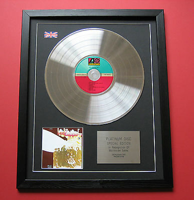 LED ZEPPELIN Led Zeppelin II CD / PLATINUM LP DISC Presentation