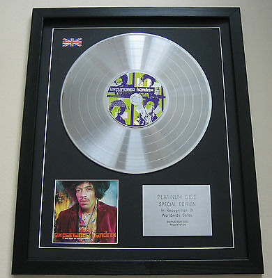 THE BEST OF JIMI HENDRIX Experience Hendrix CD/ PLATINUM LP DISC Presentation