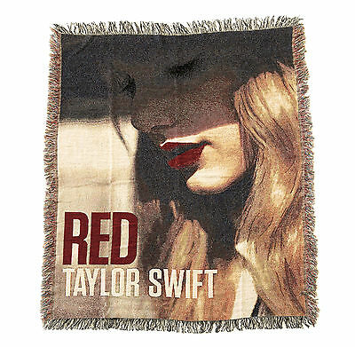 Taylor Swift Official Red Tour Blanket 50 X 60 1989 Rare New Vip Sold Out Lwymmd