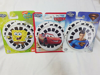 Fisher-Price View-Master 2010 3 Reel Cards/Discs Pack