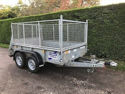 Ifor Williams Gd85 MK3 caged sided trailer In Sussex * 2.7 tonne*8x5