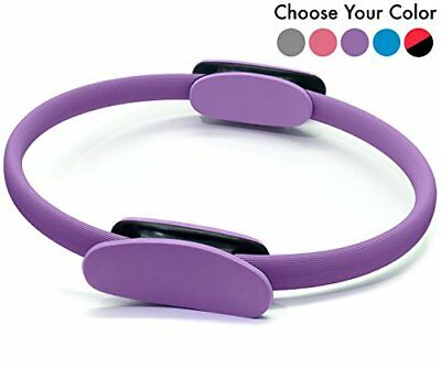 Pilates Ring – Premium Magic Circle  With Carrying Bag  Tool For Finding Your...