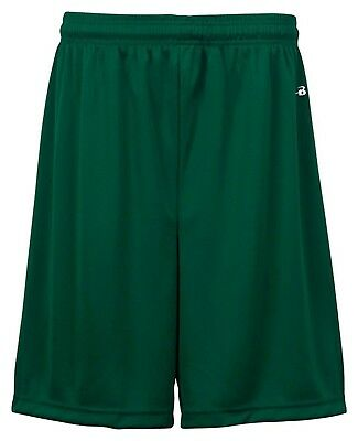 (Large, Forest) - Badger Big Boys' Athletic Performance Superior-Fit Pocketed