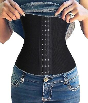 (XX-Large, Black(2-3 day delivery)) - Halloween Waist Reducer Waist Trainer