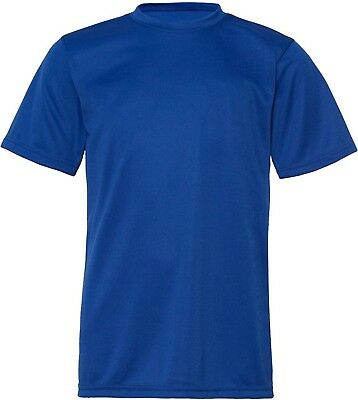 (X-Small, Royal) - C2 Sport 5200 - Youth Short Sleeve Performance T-Shirt