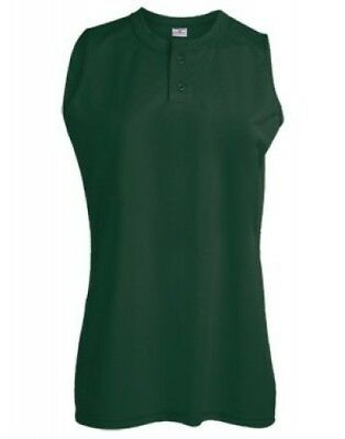 (X-Large, Dark Green) - Adult Dugout Jersey. Teamwork. Free Delivery