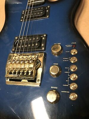 WOW 😈Vintage Cort 😈 Effector 😈Electric Guitar 😈 On Board Effects Controller