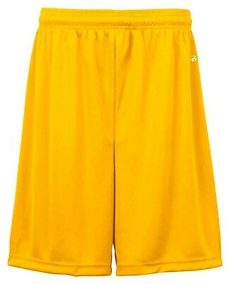 (Medium, Gold) - Badger Big Boys' Athletic Performance Superior-Fit Pocketed