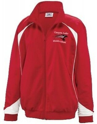 (Small, Scarlet/White) - Youth Prime Warmup Jacket. Teamwork. Shipping Included