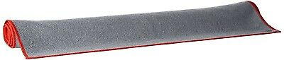 (Grey/Red) - ProSource Faveo Hot Yoga Mat Towel. Shipping is Free