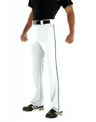 (X-Large, White/Black) - Youth Relay 500ml Piped Pant. Teamwork