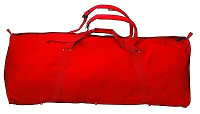 MARTIN SPORTS Jumbo Sized Equipment Bag, Red. Shipping is Free