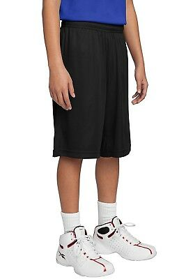 (Medium, Black) - Sport-Tek Boys' PosiCharge Competitor Short. Shipping Included
