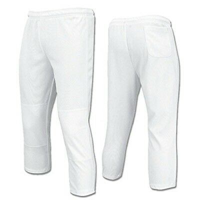 Champro Value Pull-Up Boys Baseball Pant, White, Size X-Large. Shipping is Free